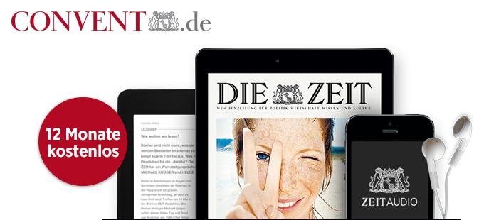 [DIE ZEIT digital] 12 Monate kostenlos - Abo endet automatisch.