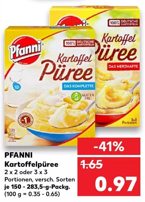 [Kaufland] Pfanni Kartoffelpüree - effektiv 0,47€ durch Cashback