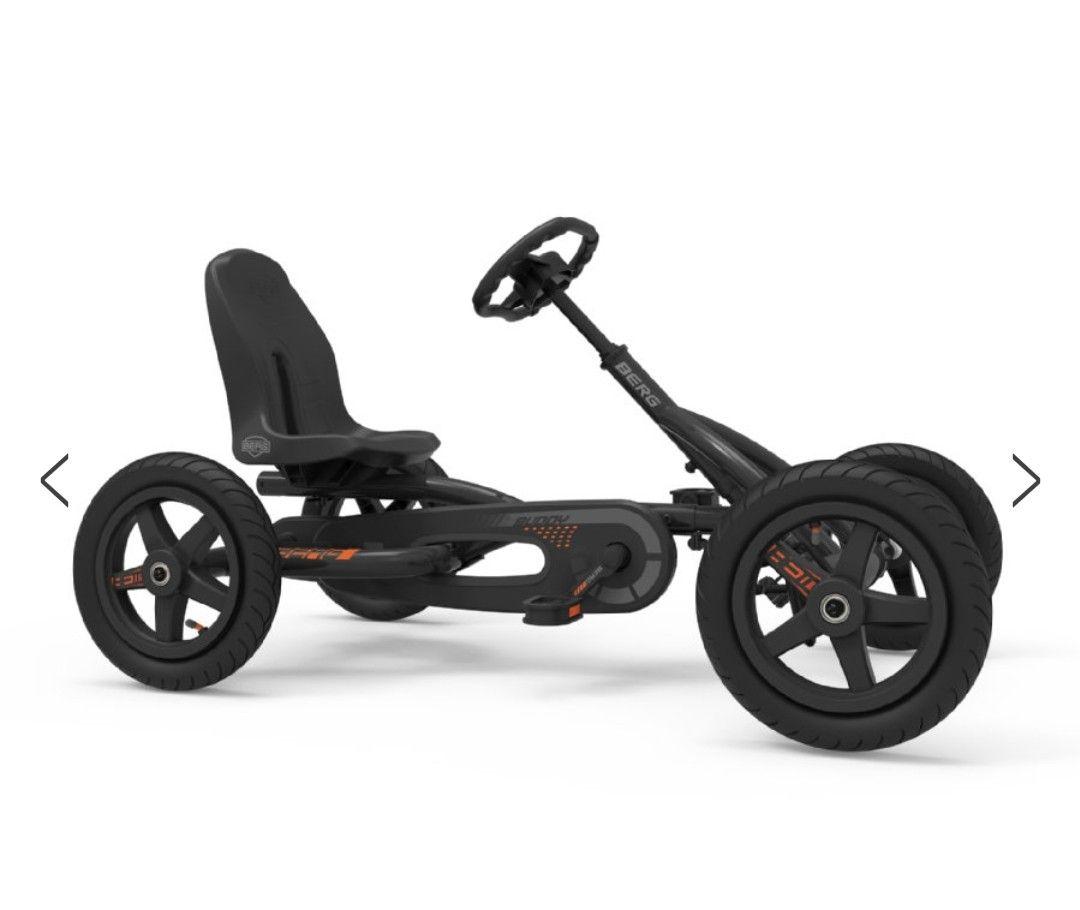 Berg Buddy Pedal Go-Kart Graphite Sondermodell