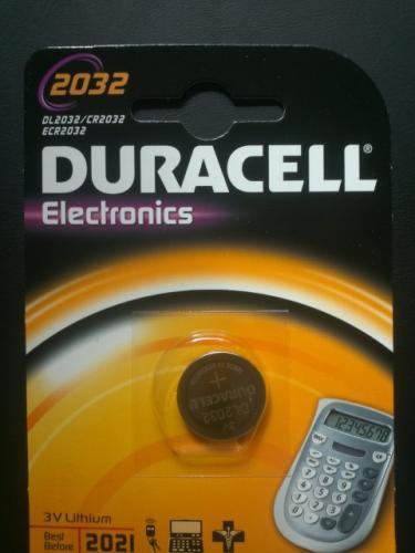 DURACELL DL2032 CR2032 2032 3V Lithium Knopfzelle Batterie Blister