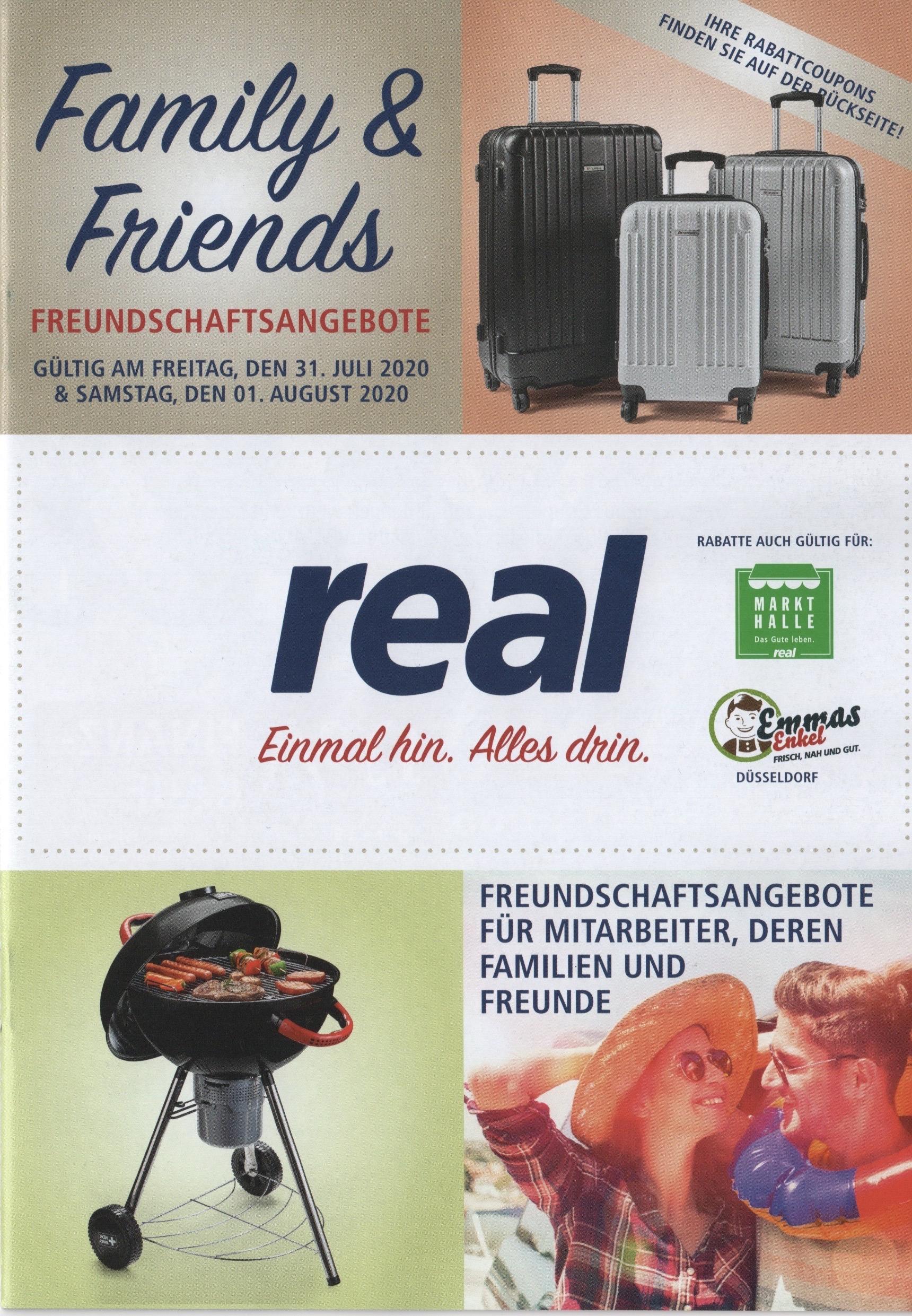 """Real Family & Friends 31.07-01.08: Braun 8365cc 145,52€; Samsung 50"""" 4K 346,32€; 25% auf Schreibwaren, Nerf und Gesellschaftsspiele"""
