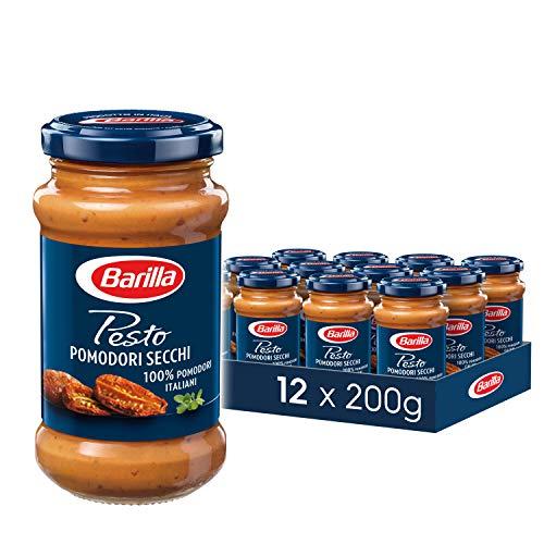 (amazon.de - Prime) 2400g Barilla rotes Pesto Pomodori Secchi – Pesto 12er Pack (12x200g)