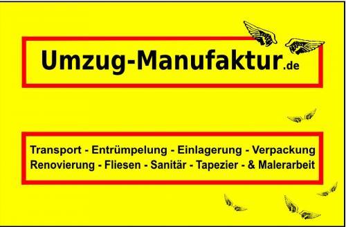 [Lokal München] 10% Rabatt auf jeden Umzug bei der Umzug-Manufaktur!