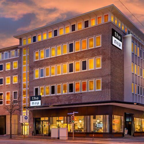Kiel: City & Beach - Design-Hotel the niu Welly - Doppelzimmer inkl. Frühstücksbox - bis Januar 2021 - gratis Storno