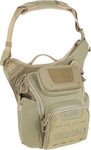 Maxpedition Wolfspur (sand) - 11L Crossbody Shoulder Bag