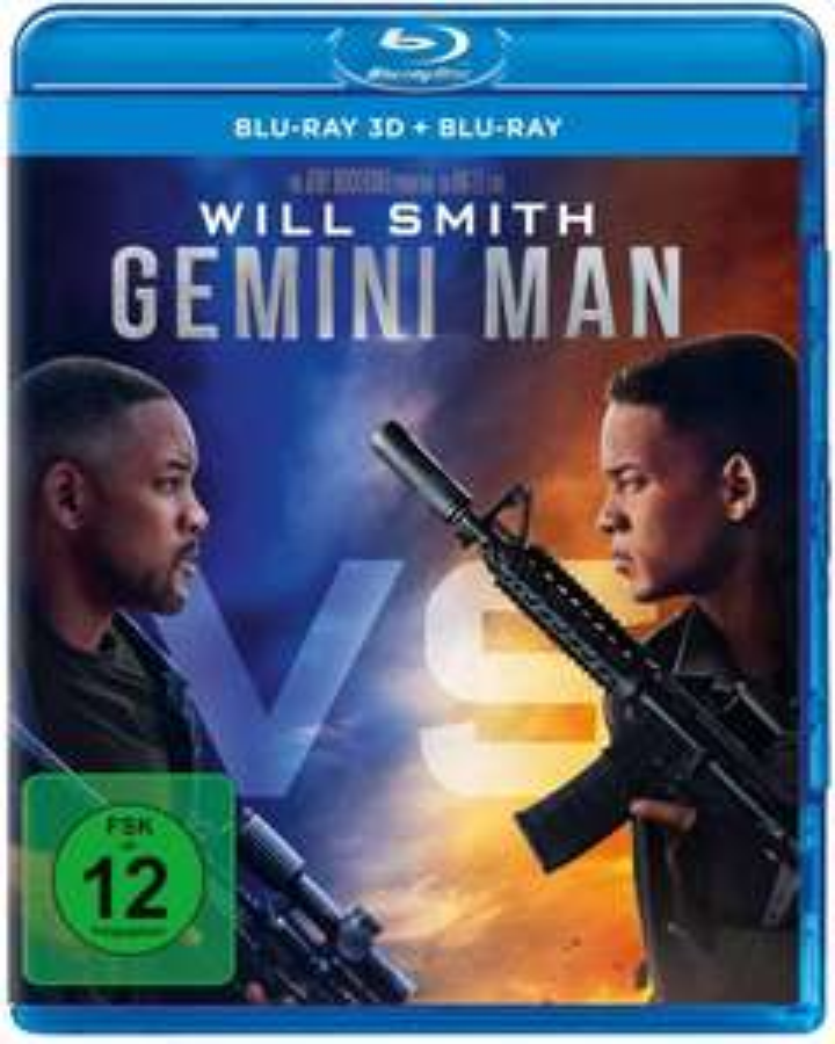 Gemini Man 3D Blu Ray (+2D)