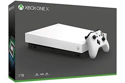 Xbox one x weiß neu