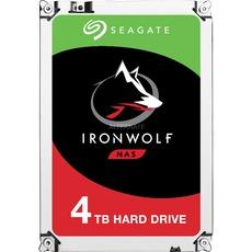 """Seagate IronWolf NAS HDD 4TB (3.5"""", CMR, 5900rpm, 64MB Cache, ~190MB/s, 1 Mio. Stunden MTBF, 3J Garantie)"""