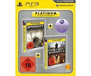 [Lokal MediaMarkt Pforzheim] PS3 Resistance Twin Pack Platinum (Resistance 2 & Resistance: Fall of Man)