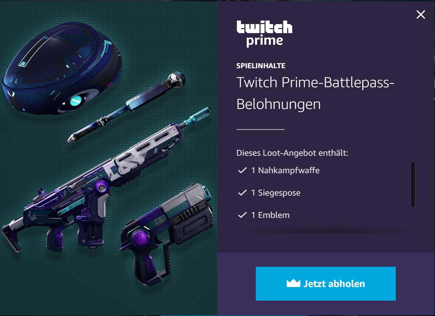 [TWITCH PRIME] Hyper Scape: Item Bundle - für neues kostenloses Battle Royal Spiel von Ubisoft [PC - Uplay]