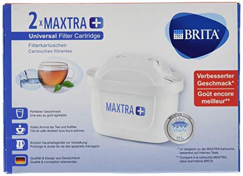 BRITA Filterkartuschen MAXTRA+ im 2er Pack – Kartuschen für alle BRITA Wasserfilter für 8,54€ (Amazon Prime)