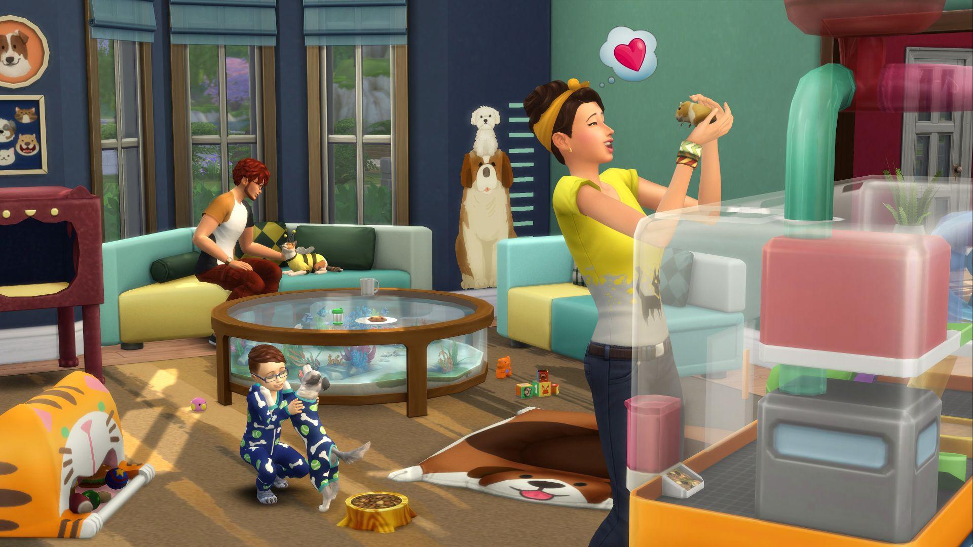 Die Sims 4 - Mein erstes Haustier / Tiny Houses / Waschtag / ... DLC - PC/Mac [Origin Access]