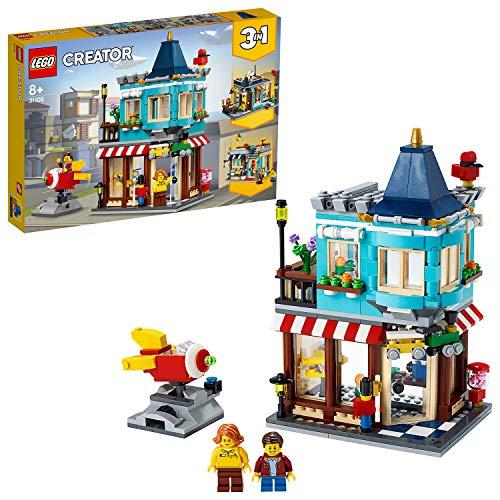[Amazon.de] LEGO 31105 Creator 3-in-1 Spielzeugladen im Stadthaus, Stadthaus Spielzeugladen - Konditorei - Blumenladen Bauset
