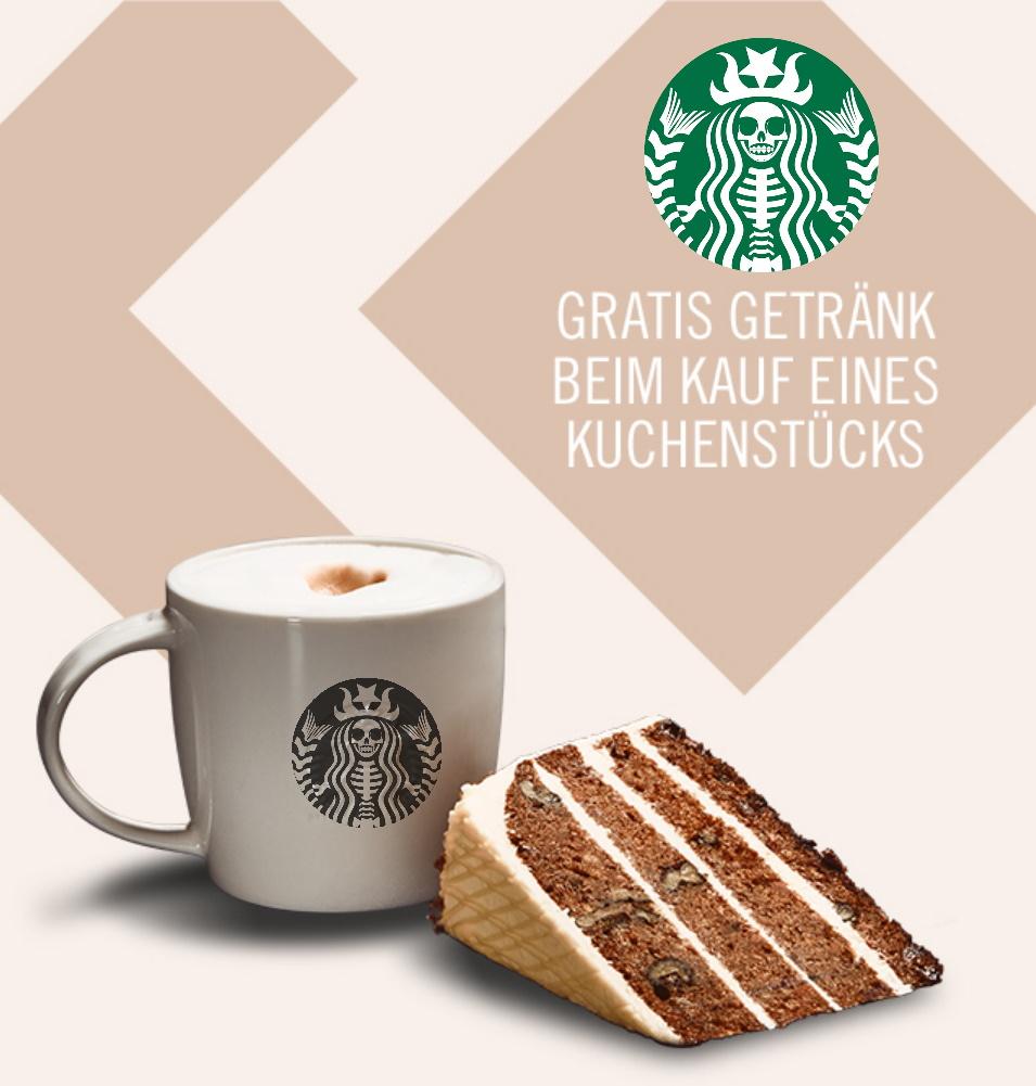 Gratis Espressogetränk beim Kauf eines Stücks Kuchen bei Starbucks (bis 31.07. täglich ab 14 Uhr)