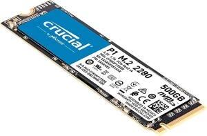 CRUCIAL P1 500GB SSD M.2 NVMe für 53,50€ oder 1TB Variante für 98,26€ inkl. Versandkosten