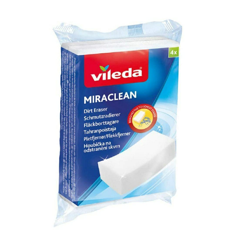 VILEDA Schmutzradierer 4 Stück-Packung (Prime) Miraclean