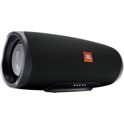 JBL Charge 4 Bluetooth Lautsprecher schwarz (Powerbankfunktion, wasserdicht gemäß IPX7) [CONRAD]
