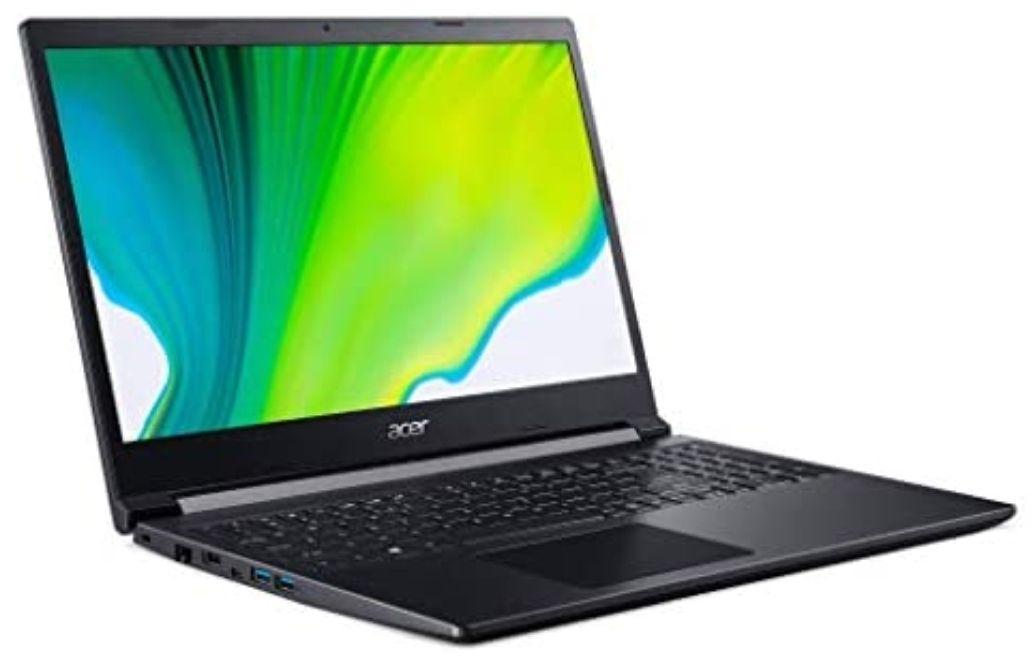 """[Amazon.es] ACER Aspire 7 A715-41G 15.6"""" FHD IPS, Ryzen 5 3550H, 8GB RAM, 512GB SSD, GTX 1650, bel. QWERTY-Tastatur, FreeDOS"""
