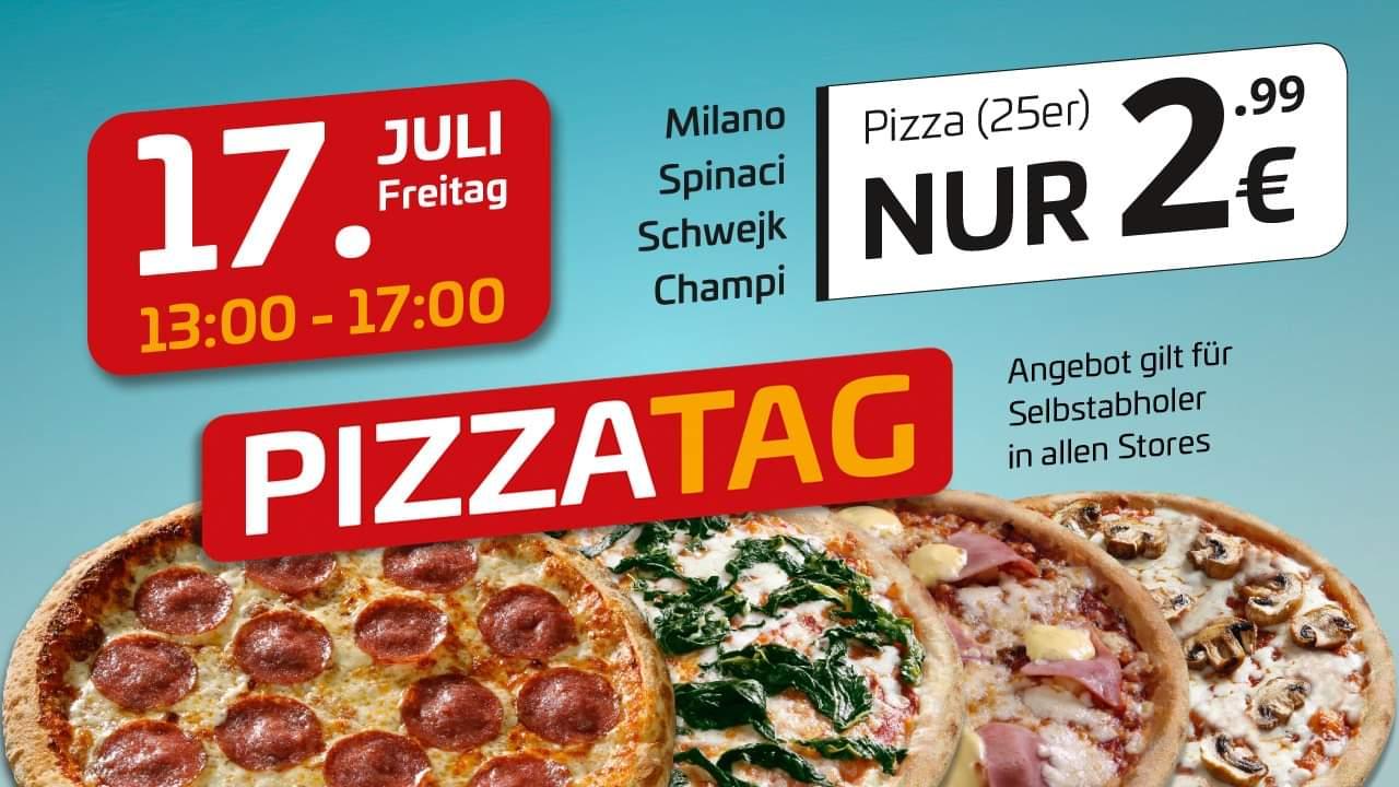 (Magdeburg, Halle, Leipzig) Uno Pizza für 2,99€ - 4 Sorten - Nur Abholung - Am Freitag, 17.07.20