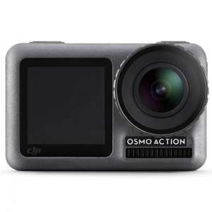 DJI Osmo Action Cam (Digitale Actionkamera mit 2 Bildschirmen, 11m wasserdicht, 4K HDR-Video, 12MP, 145° Winkelobjektiv)
