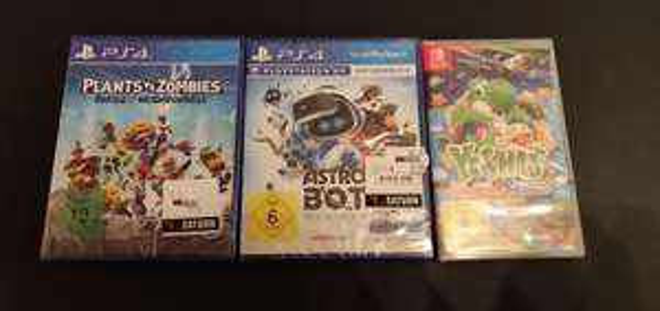 [Lokal Köln] Diverse PS4 und Switch Spiele z. B Dragon Quest XI, Yoshis Crafted World, Mario Maker 2 etc..