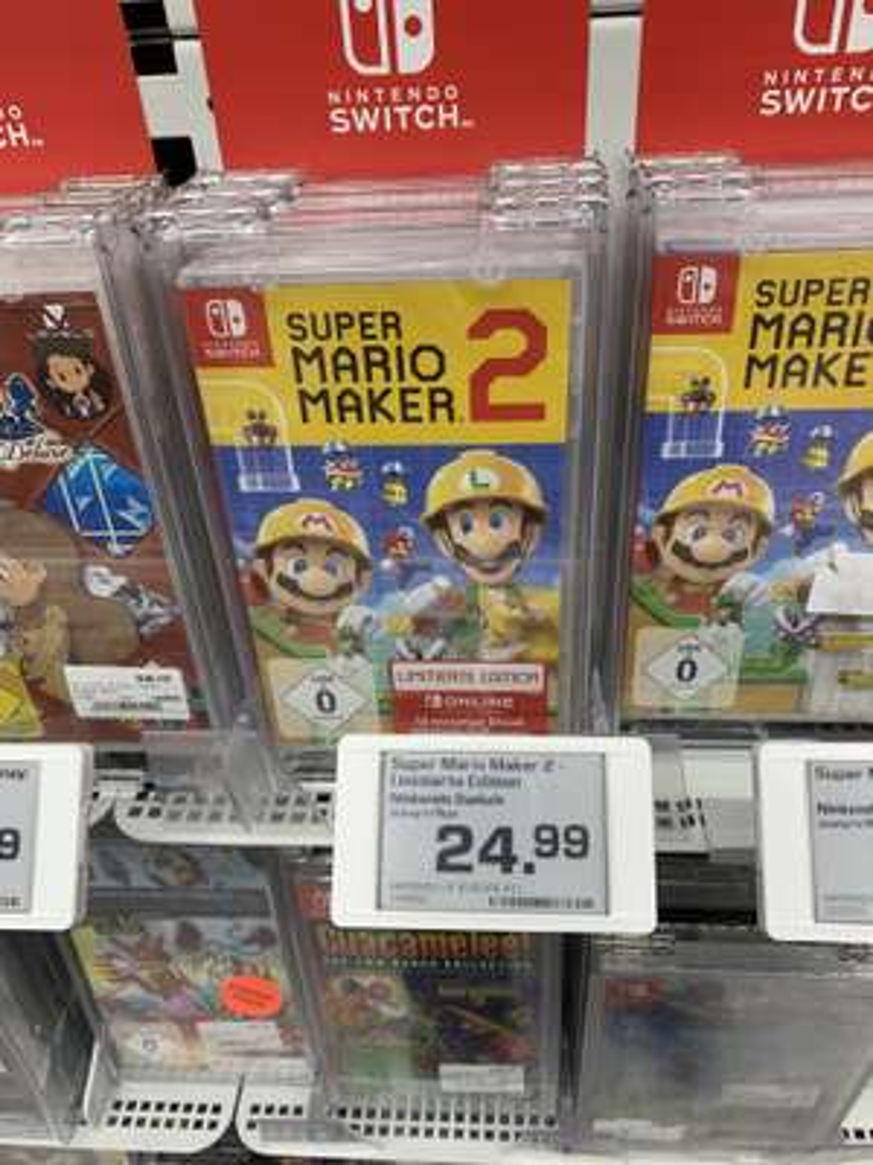 [Lokal Erlangen] Switch Super Mario Maker 2 Limitierte Edition oder Yoshis Crafted World