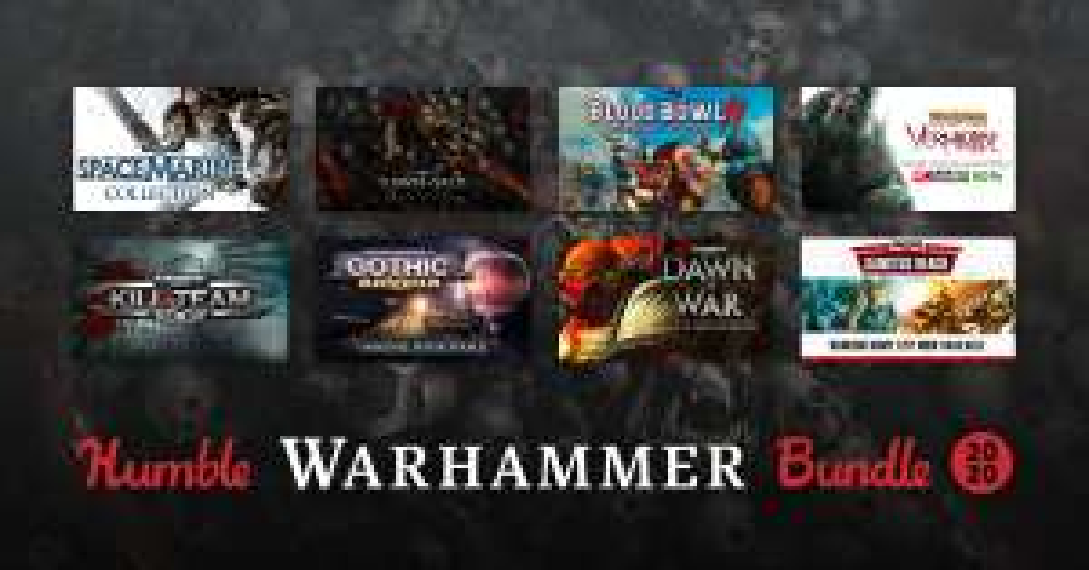 HUMBLE WARHAMMER BUNDLE 2020 (Steam) ab 1€