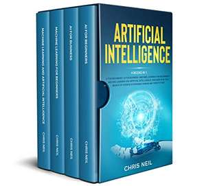 AI + ML // 3500p Sci-fi collections science fiction (English Kindle ebooks) & Machine Learning And Artificial Intelligence