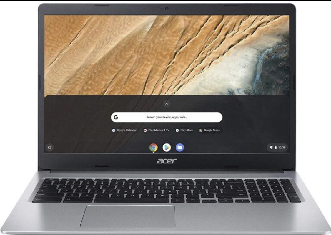 Acer Chromebook 315 Notebook (15,6 Zoll Full-HD matt, 20mm flach, extrem Lange Akkulaufzeit, schnelles WLAN, MicroSD Slot, Google Chrome OS)