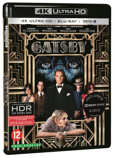 Der grosse Gatsby 4K (4K UHD + Blu-ray) + Django (DVD) für 9,94€ (Fnac)