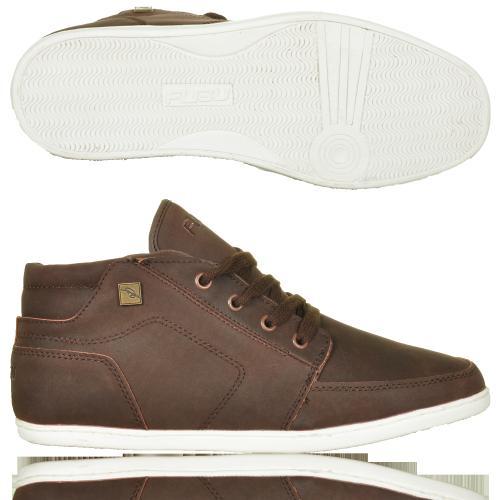 Fubu Shoe Lace High-sneaker Braun für 14,90€ + 3,90€ Versand!