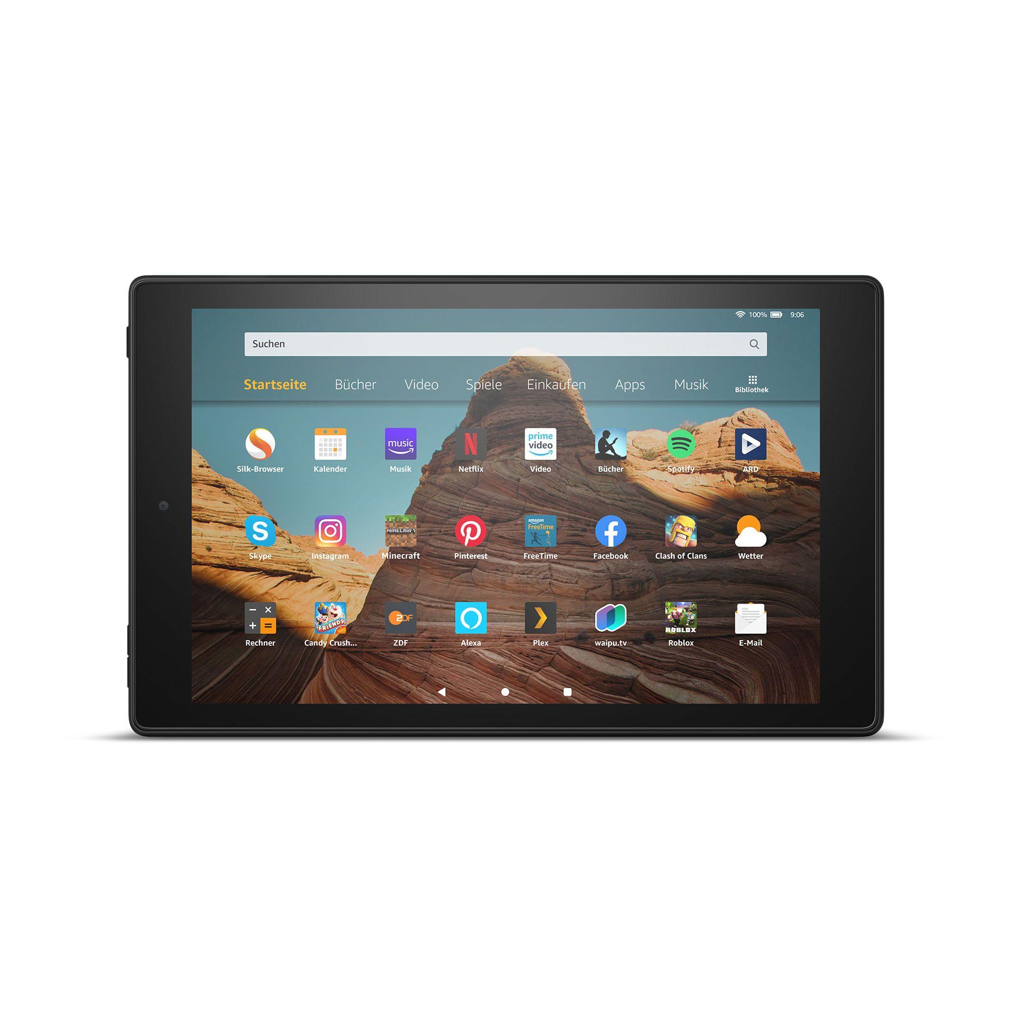 AMAZON Fire HD, 9.Generation (2019) 10 25,7cm Tablet PC Octa Core, 32GB inkl. 32GB Karte