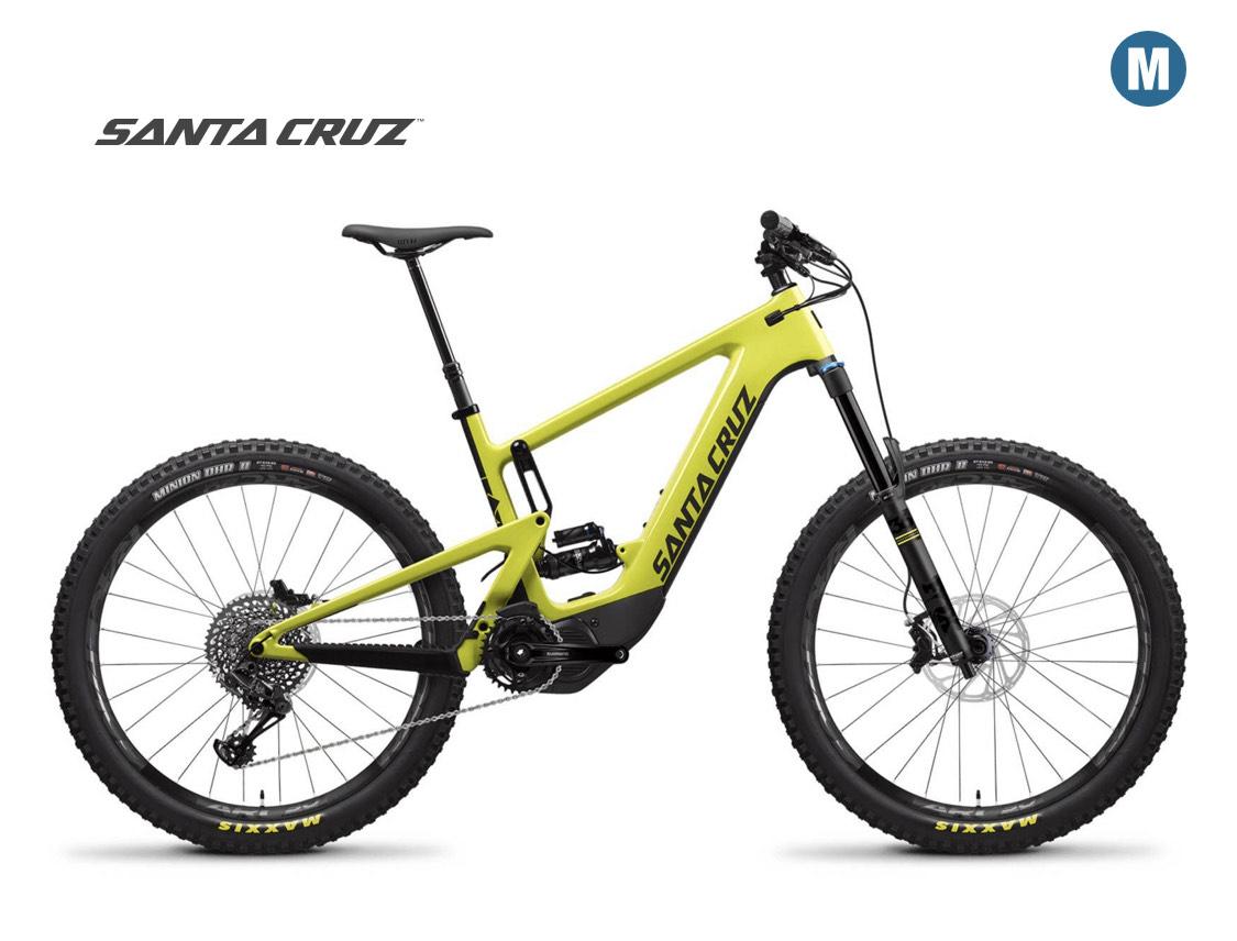 Santa Cruz Heckler CC S, yellow/black / EBike / MTB