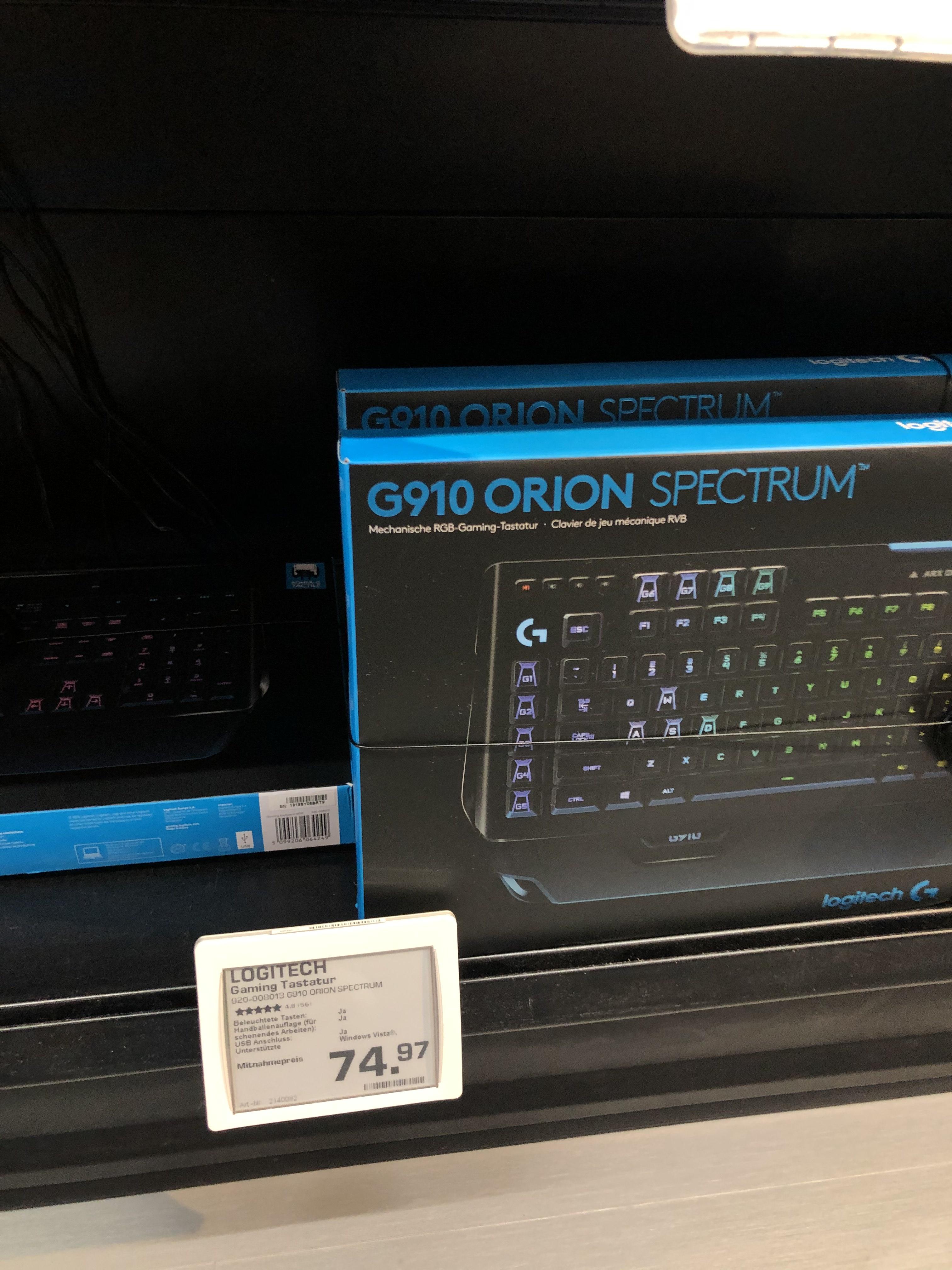 Logitech G910 mechanische Gaming Tastatur (Saturn Köln City)