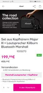 Marshall Major III + Killburn II im Set