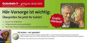 Gratis Hörtest + 1€ Spende an die Organisation ClaSH