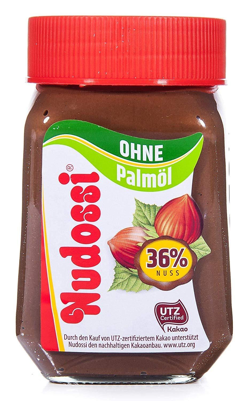 Nudossi, ohne Palmöl, das 300g-Glas für nur 2,44 Euro [Edeka Nordbayern, Sachsen, Thüringen]