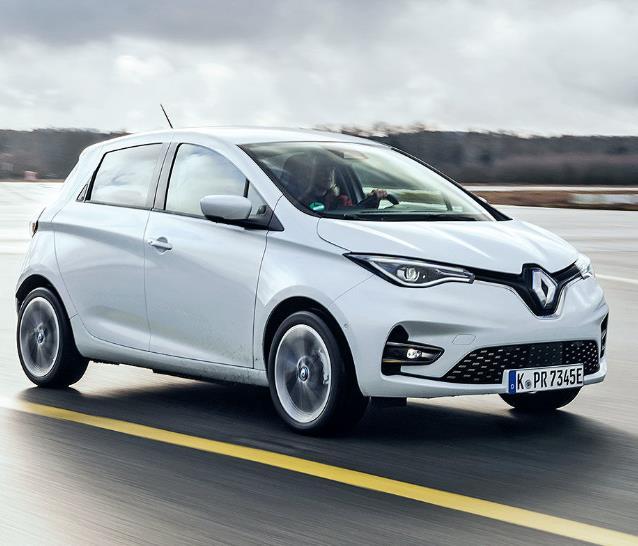 Freiberufler / Gewerbeleasing: Renault Zoe (konfigurierbar) inkl. Wartung, Verschleiß und Überführung für 0€