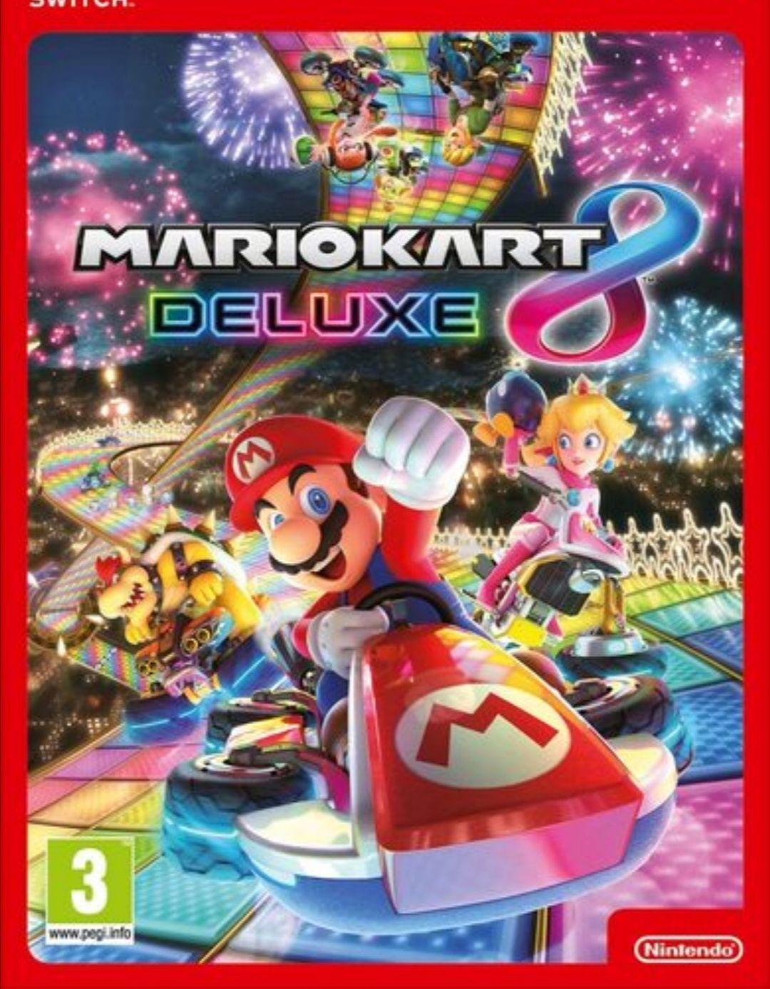 Mario Kart 8 Deluxe US Key