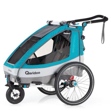 Qeridoo® Kinderfahrradanhänger Sportrex1