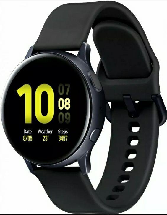 Samsung R820 Galaxy Watch Active 2 44mm schwarz Bluetooth Smartwatch   189,90€   eBay-Price-Guard