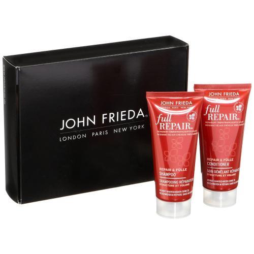 Bestpreis! [Amazon Prime oder als Füllartikel] John Frieda Full Repair Probierset (1x Repair & Fülle Shampoo 50 ml, 1x Repair & Fülle Conditioner 50 ml) NUR  0,91 €