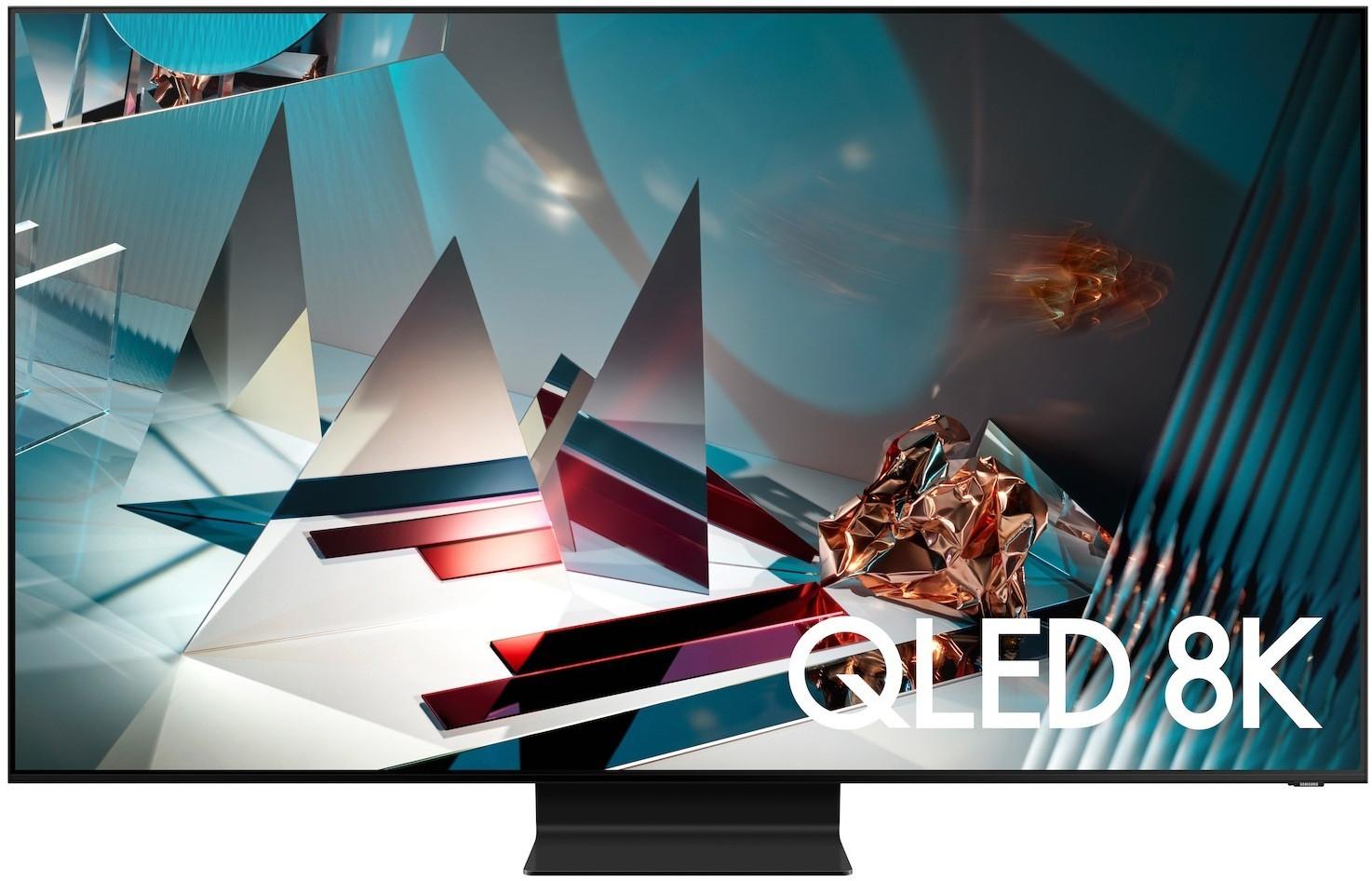 """Samsung QE65Q800T + 170,40€ RSP (65"""", 8K, VA, FALD, HDR bis 1175cd/m², 120Hz, FreeSync/G-Sync Compatible, 1x HDMI 2.1, 3x HDMI 2.0, Tizen)"""