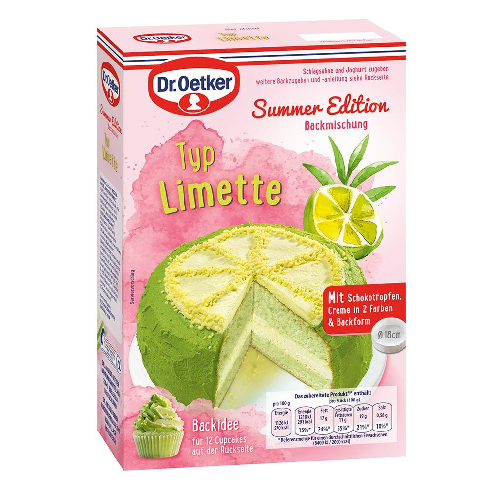 Dr. Oetker Limetten Kuchen für 1€ + 1x Gratis Pudding + ab 50€ 1x Marmorkuchen
