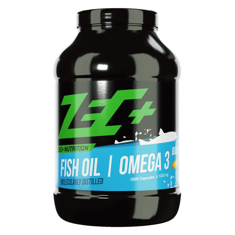 (Abverkauf) ZEC+ FISCHÖL Kapseln OMEGA 3 (mit Vitamin E) 50% Rabatt