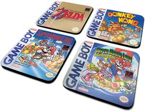 [lokal TEDI] Classic Coaster Collection Gameboy Untersetzer