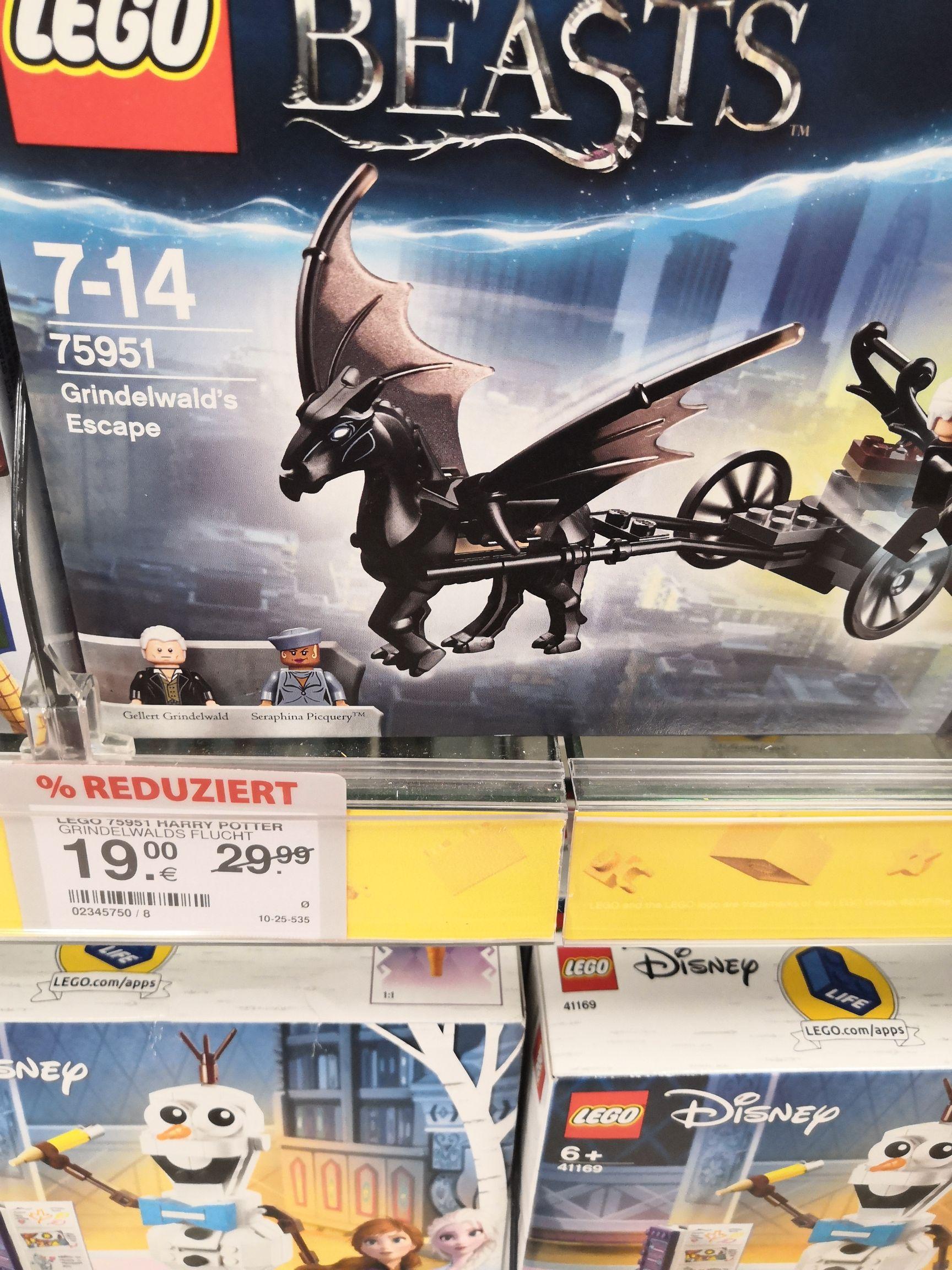 LEGO Fantastic Beasts - Grindelwalds Flucht (75951) [Lokal Müller Dortmund]