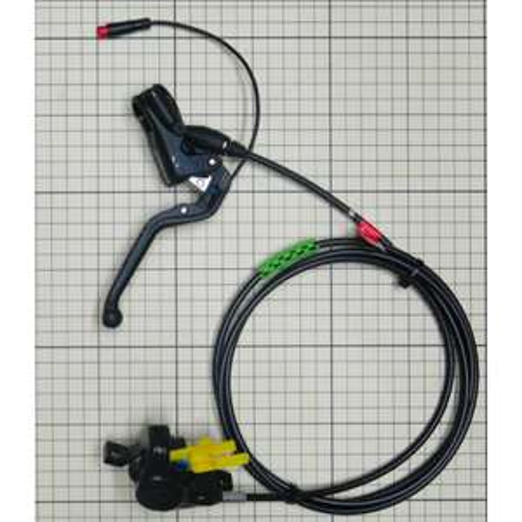 E-MTB/Pedelec MAGURA MT4e hydraulische Scheibenbremse (V+H, Higo cable) - 900mm/1800mm