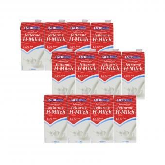 [Preisfehler] [getnow] 12x 1L Lactowell Laktosefrei Fettarme H-Milch 1,5% für 1,07€