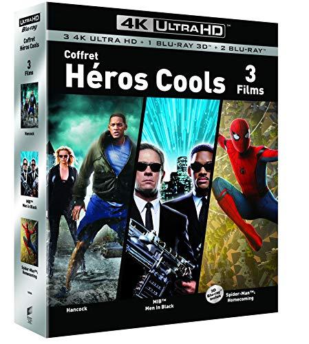Hancock + Men in Black + Spider-Man: Homecoming (4K Blu-ray + Blu-ray) für 16,89€